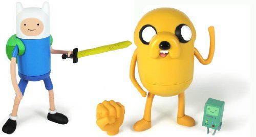 Adventure Time With Finn & Jake 5 Action Figure Set Of 2 @ niftywarehouse.com #NiftyWarehouse #AdventureTime #TVShow #Cartoon #Show #CartoonNetwork