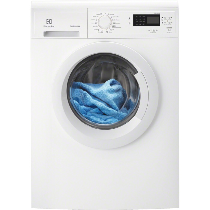 EWP1274TDW Front loader washing machine, Electrolux washer