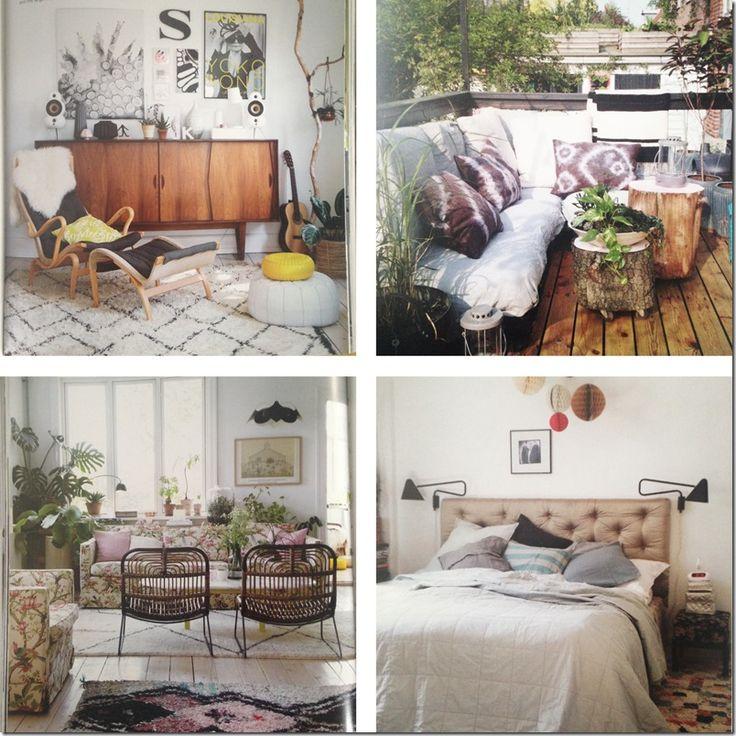 My home featured in the book Bohemian modern by Emily Henson  Blog - MeltdesignstudioMeltdesignstudio   Dorthe Kvist