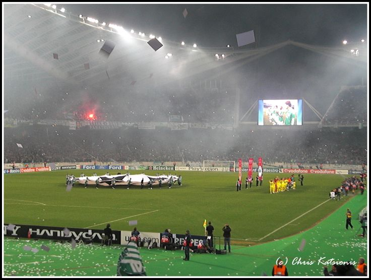 vs Villareal Champions League Round 0f 16 10 March 2009