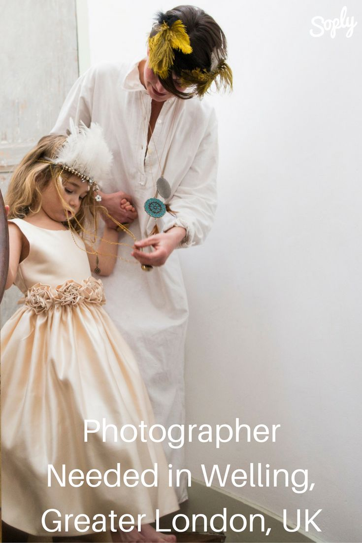 #Photographer needed for a 5-year-old #birthday p#arty on 28/10/2016 from 17:30 till 21:00hrs. See the #photographyjob and apply by clicking the pin!