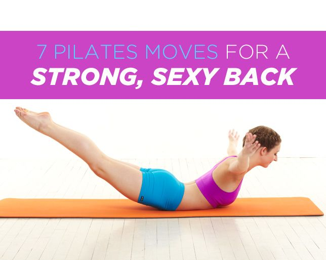 Pilates Back Exercises