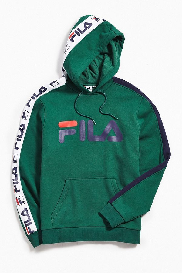 dca9c01832ef FILA Fifty-Fifty Hoodie Sweatshirt | Mens wear | Hoodies, Fila ...