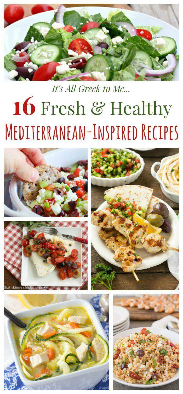 Best 25 mediterranean recipes lunch ideas on pinterest mediterranean diet mediterranean - Healthy greek recipes for dinner mediterranean savour ...