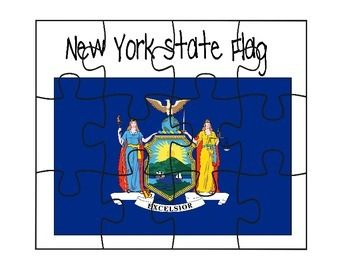This is a New York flag puzzle.