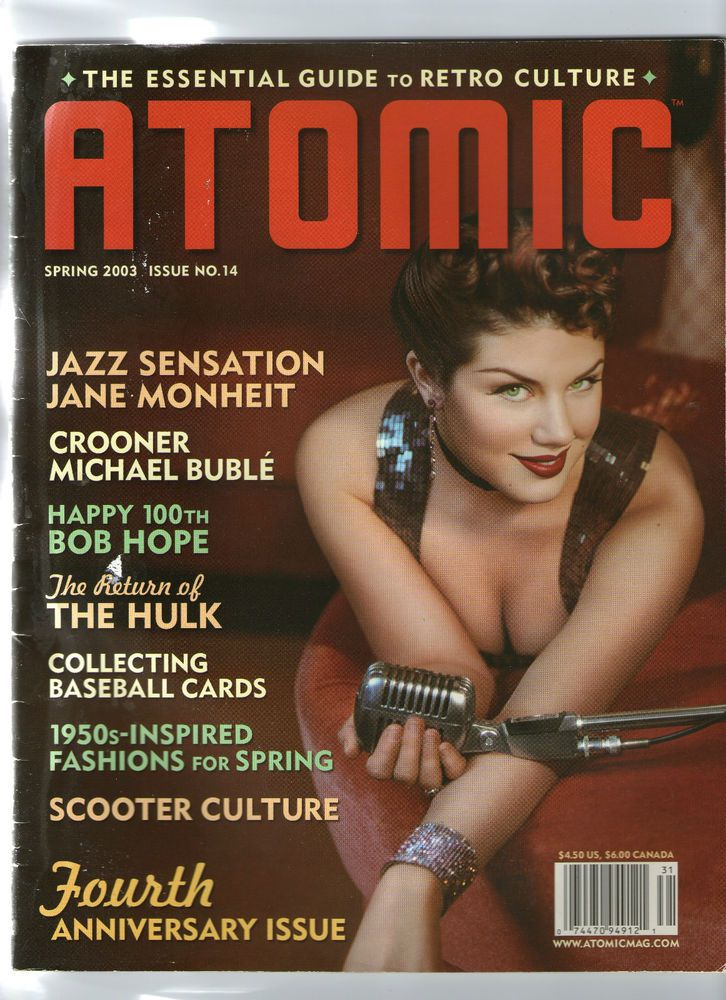 ATOMIC MAGAZINE. THE ESSENTIAL GUIDE TO RETRO CULTURE. ISSUE 14 .2003 | eBay