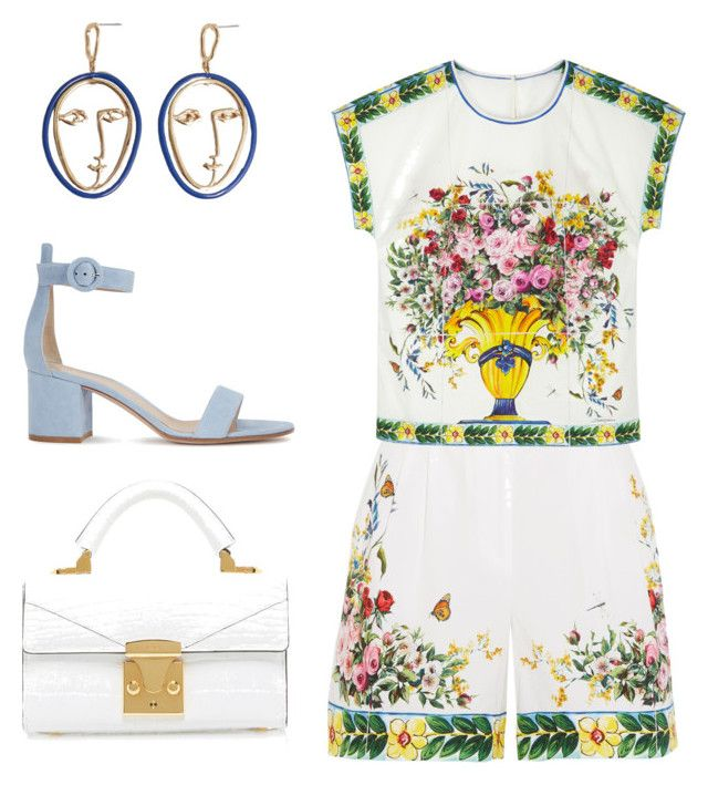 Dolce&Gabbana dream by thinklikeyasso on Polyvore featuring polyvore, fashion, style, Dolce&Gabbana, Gianvito Rossi, MANGO and clothing