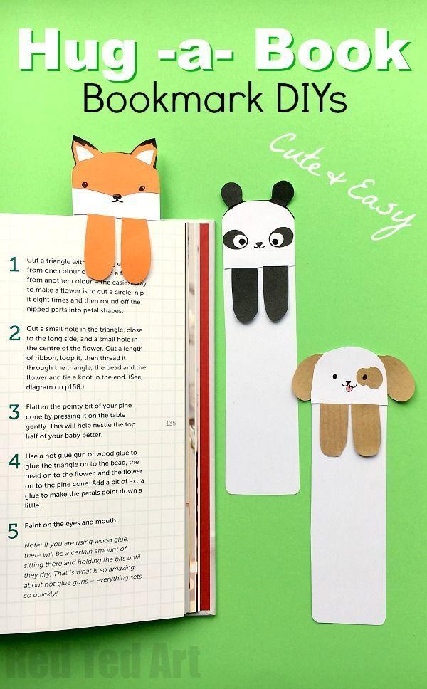 Dog Bookmark Cute Bookmark Ideas Bookmarks Kids Cute Bookmarks Book Crafts