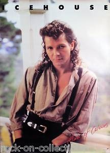 A serious SO 80's complete with mullet crush for this guy when I was a teenager. Plus, Icehouse was a pretty decent band! Iva Davies (Icehouse)