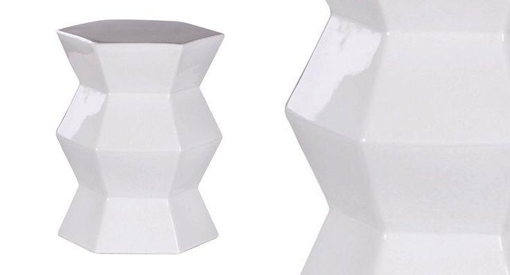Azura Ceramic Garden Stool