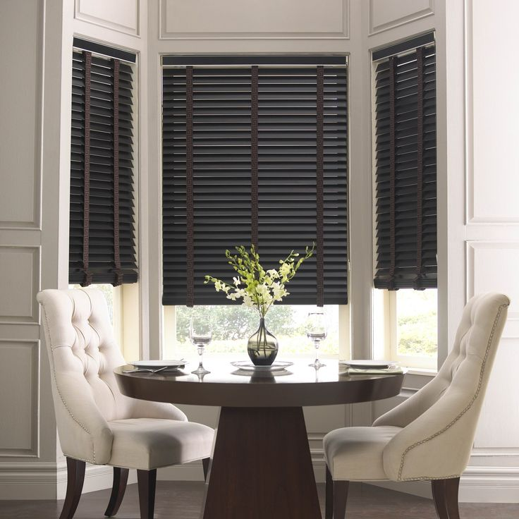 10 Best Ideas About Black Wooden Blinds On Pinterest