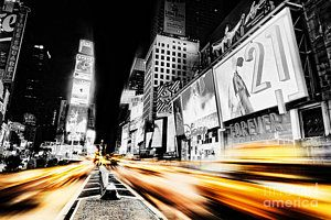 Cities Photograph - Time Lapse Square by Andrew Paranavitana