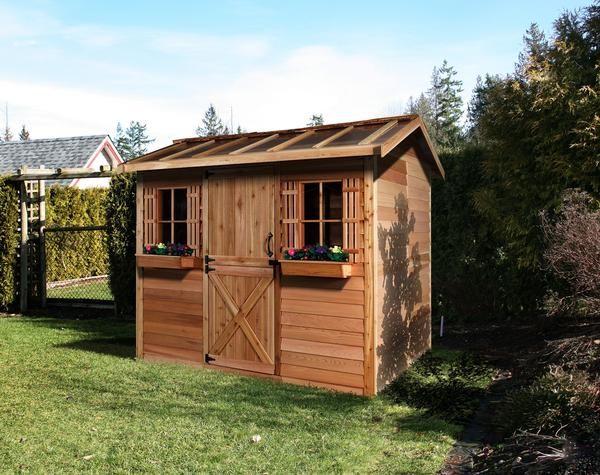 Hobbyhouse Kits - Prefab She Sheds | Garden shed interiors ...