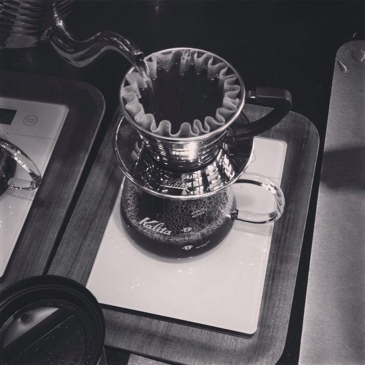 Slow coffee, Solberg & Hansen, Oslo, Norway