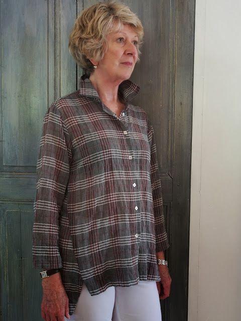 Tessuti Fabrics - Sheryl's Jac Shirt Pattern