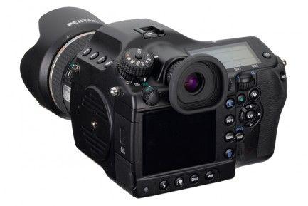 Pentax 645D medium format camera