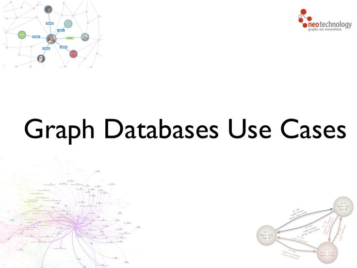 Graph database Use Cases by Max De Marzi via slideshare