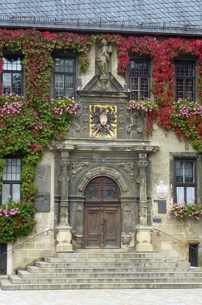Rathaus (Town Hall) of Quedlinburg, Saxony-Anhalt, Germany