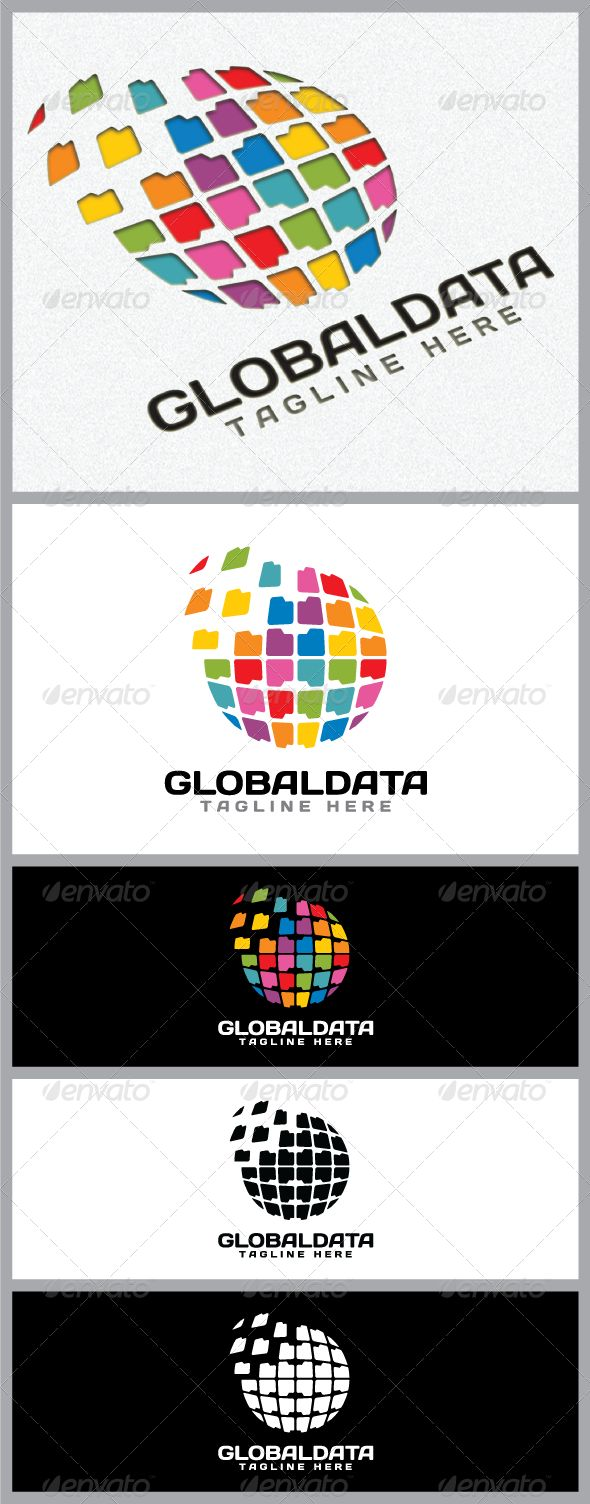 Global Data Logo Template
