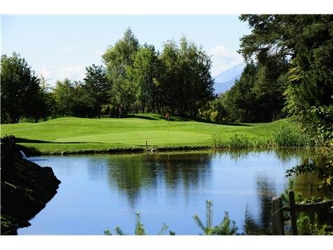 Golf Club Petersberg (BZ) Trentino Alto Adige, Italy