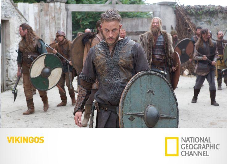 Descubre las aventuras de Ragnar Lothbrok y adéntrate en los misterios y costumbres de esta antigua cultura. Vikingos. Lunes, 10PM / 9.30PM VE / 9PM PE #Vikingos www.natgeo.tv/vikingos