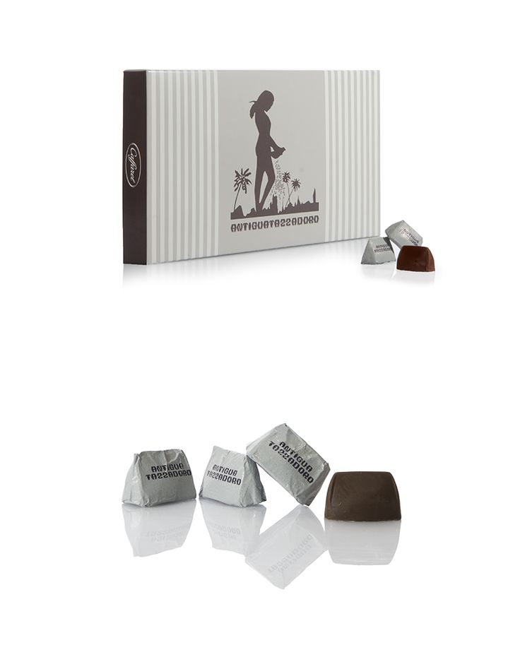 Collaborazione con il brand Caffarel per la realizzazione della confezione per i gianduiotti Tazza D'oro. #Caffarel #packaging #food