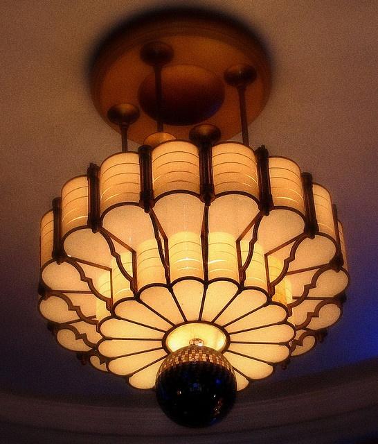 Art Deco Chandelier  Found in an old hall in Kings Cross