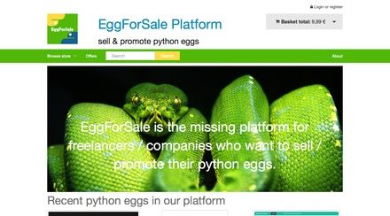 Eggs is a theme for django oscar ecommerce based on Foundation 5.x.