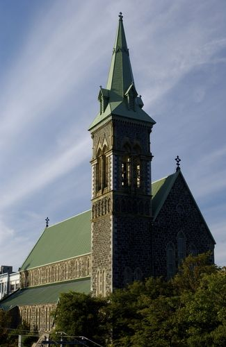 St. Patrick's Church. Attached is St. Patrick's all girls convent school. ST. JOHN'S NEWFOUNDLAND