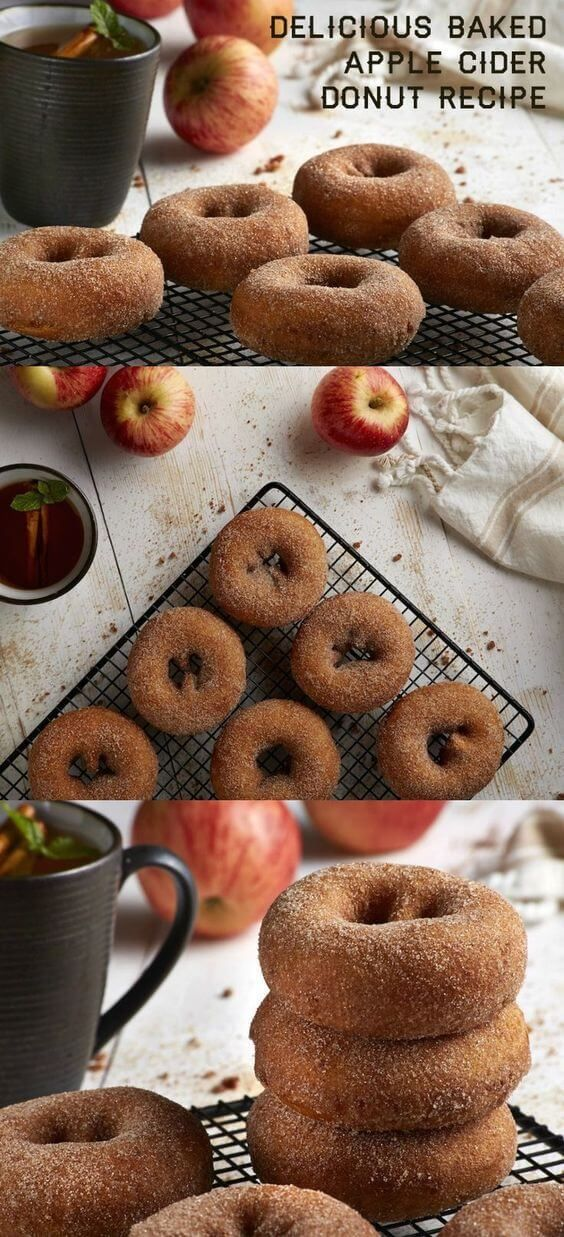 Delicious Apple Cider Baked Donut Recipe