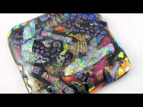 Creating Layered Dichroic Fused Glass