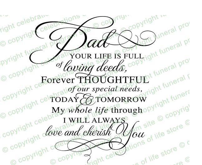 Inspirational Quotes : Dad Pre Designed Script Elegant Title