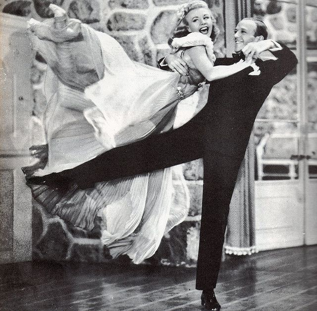 "Fred Astaire & Ginger Rogers in ""Carefree"", 1938 by thefoxling, via Flickr"