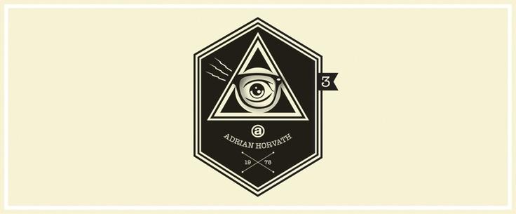zeshoek, driehoek, zwart wit
