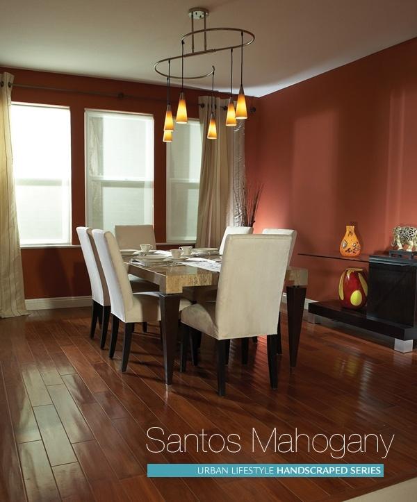 Solid Brazilian Cherry Hardwood Flooring Images