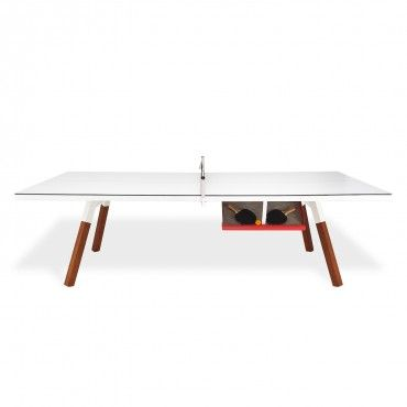 RS Barcelona White Ping Pong / Dining Table