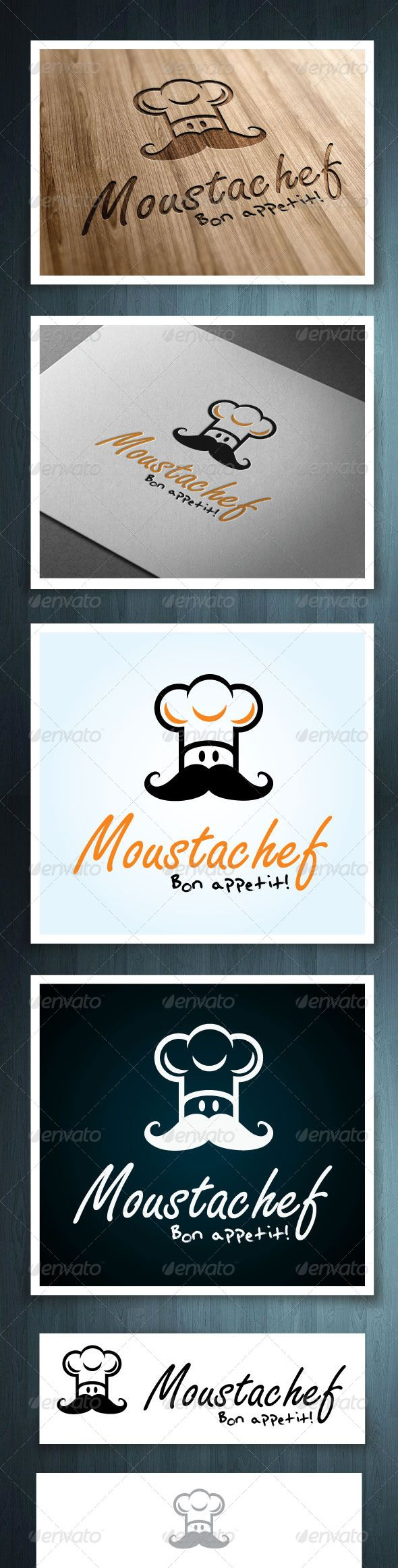Moustachef #GraphicRiver Moustachef is a multipurpose logo, can be used in any companies related to food, cooking, baking. Ideal for restaurants, and fast food companies. Ai & EPS 10 CMYK 100% vector Easy to edit color and text Font name, and link included in the info file. Created: 25June13 GraphicsFilesIncluded: VectorEPS #AIIllustrator Layered: No MinimumAdobeCSVersion: CS Resolution: Resizable Tags: bar #bistro #breakfast #catering #chef #cook #delivery #dinner #eat #fastfood #food #logo…