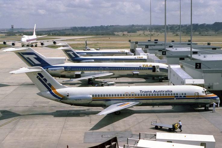 Trans Australia Airlines DC-9-30 (VH-TJT)