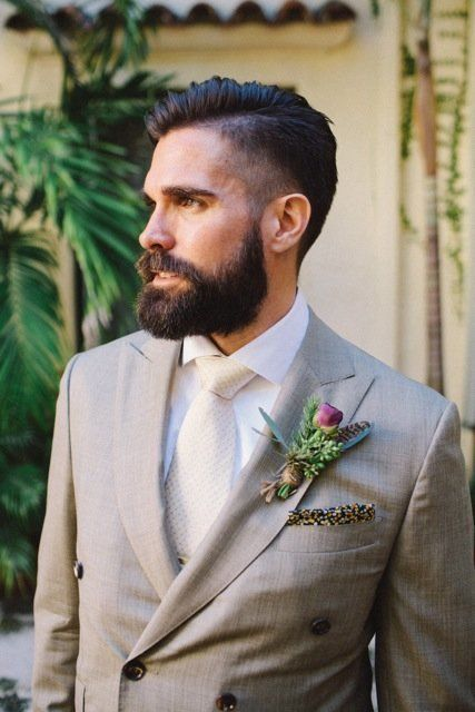 24 handsome grooms who rocked the hell out of their facial hair | Kelly Kee Photography