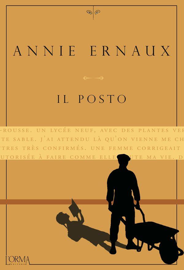 """A distanza di 30 anni, esce finalmente in Italia questo romanzo autobiografico dell'autrice francese Annie Ernaux, che le è valso il premio Renaudot nel 1984. La storia di un padre (prima contadino, poi operaio e infine commerciante) e la difficoltà dell'autrice di accettare quella vita modesta, fanno di questo romanzo un piccolo capolavoro, sempre in bilico fra l'ammirazione per il genitore e la voglia di cambiare mondo. Annie Ernaux, """"Il posto"""", L'Orma 2014."""