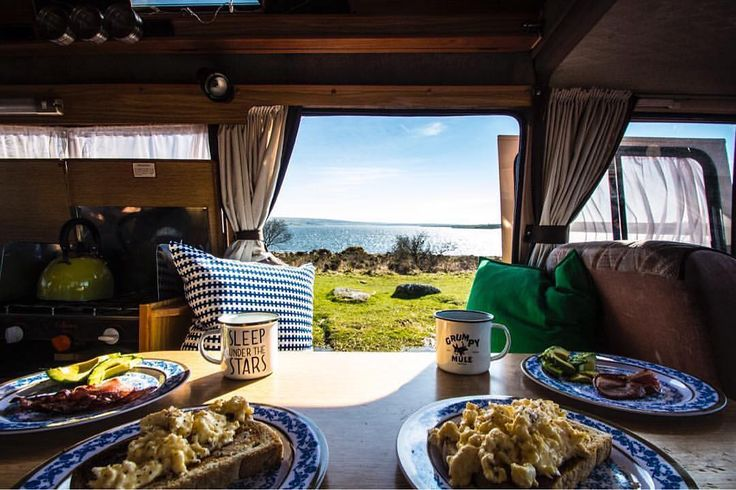 New Vanlifer here: @thelittlevanthatcan Bio: Paddy/Megan| Irish/Aussie couple |1986 camper | Surf|European road trips|Outdoors|Capturing our travelling experiences #vanlifers Thanks for tagging us @vanlifers & #vanlifers . Breakfast by a Cornish lake before heading for a surf in this summer like weather. #bliss  #vanlife #vanstagram #vans #vanlifemovement  #vanlifediaries #camping #campervanlife #campervan #classiccamper #newquay #wanderfolk #wanderlust #wanderingnomad #travelgram #surfuk…