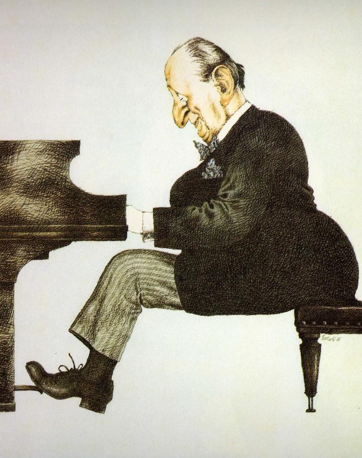 Tullio Pericoli Vladimir Horowitz 1986