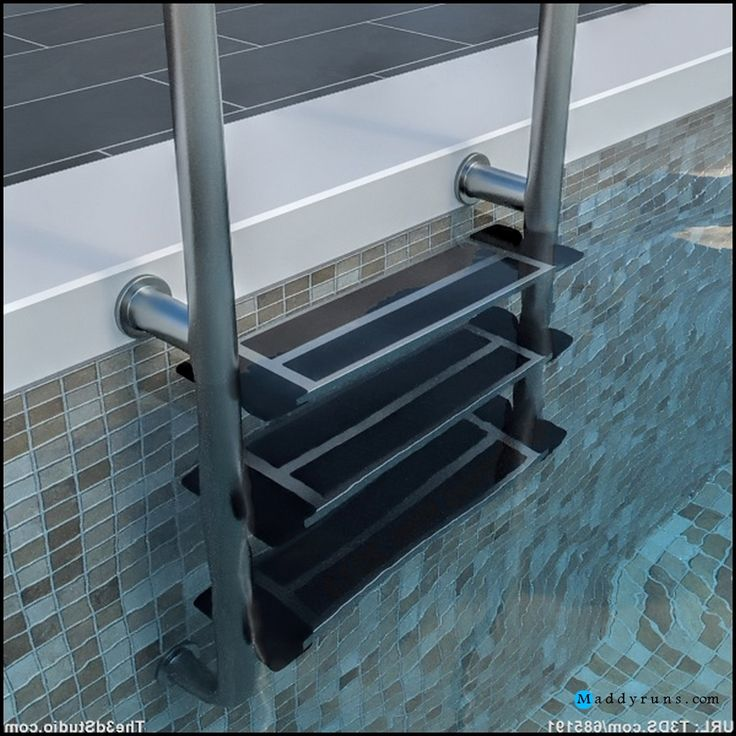63 best images about architecture on pinterest pool ladder kidney shaped pool and above - Above ground pool steps for handicap ...