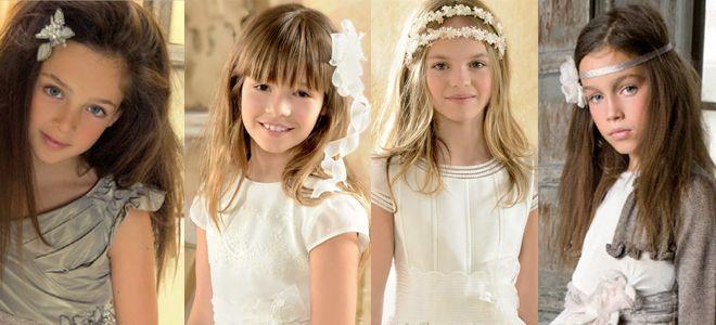 Ideas peinado de comunión para niñas
