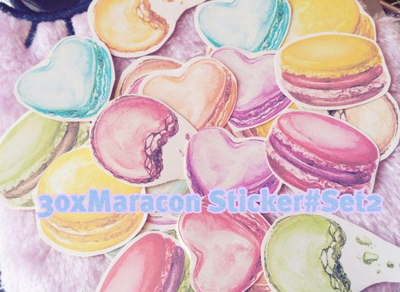 Macarons,Macaron,Sweet dessert sticker,macaron sticker,scrapbook stickers,diary  in Crafts, Scrapbooking & Paper Crafts, Scrapbooking | eBay!