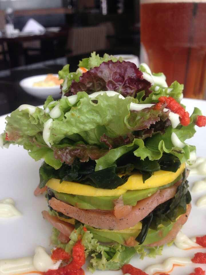 Salmon Timbale : You should not miss the appetizer in every meal