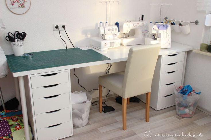 biancas n hzimmer der mamahoch2 kreativraum n hzimmer b ro office working pinterest. Black Bedroom Furniture Sets. Home Design Ideas