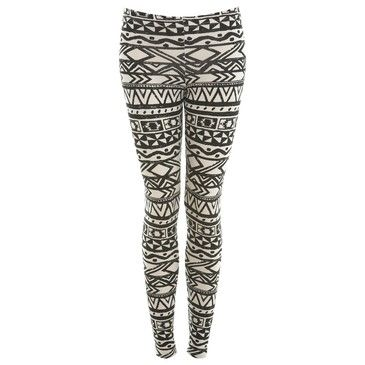 legging: Printed Leggings Outfit, Marie, Facebook Poker, Spring Summer Fashion, Aztec Clothes, Style, Woman, Aztec Printed Leggings, Aztec Leggings Outfit
