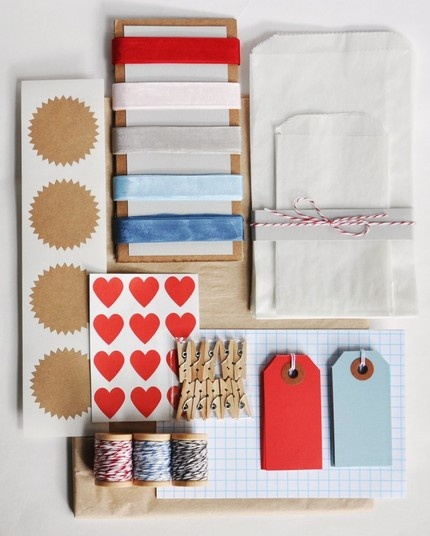 Knot & Bow: love a collection of cool stationery-type things