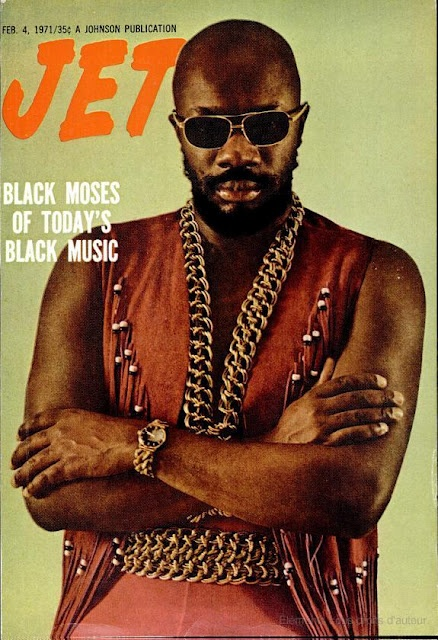 Isaac Hayes - Jet Cover Magazine (1971)